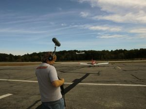 "On location recording for The Cleansed, a new post-apocalyptic sci-fi serial to air on WKIT the ""Rock"" of Bangor.  Recorded at Biddeford Airport, Biddeford, Maine and a residence in Gorham, Maine"