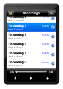 Rode Rec iPad App Field Recorder