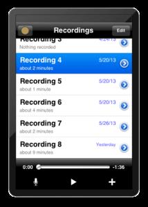 Rode Rec iPad App Field Recorder